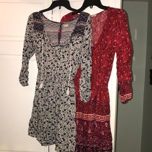 Hollister dress bundle